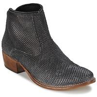 Zapatos Mujer Botas de caña baja Meline ELISE Negro