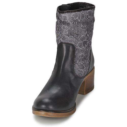 Zapatos Negro Mujer Meline Alessandra Botines qSpzMGUV