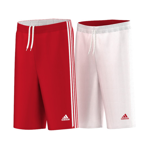 textil Niño Shorts / Bermudas adidas Performance Short Team Reversible Junior Rojo