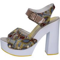 Zapatos Mujer Sandalias Suky Brand sandalias beige textil charol AB308 beige