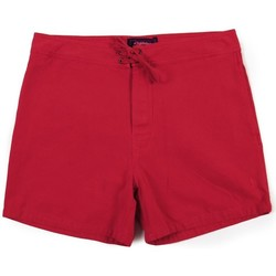 textil Shorts / Bermudas Lightning Bolt L.BOLT Crane Canvas  Walkshort POMPEIAN RED Rojo