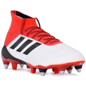 Zapatos Hombre Fútbol adidas Originals Predator 181 SG Blanco-Rojo