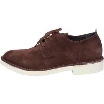 Zapatos Hombre Derbie & Richelieu Moma AB442 marrón