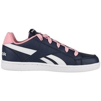Zapatos Niños Zapatillas bajas Reebok Sport Royal Prime Blanco-Azul marino