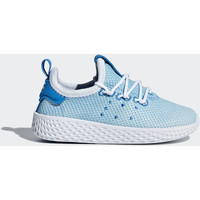 Zapatos Niño Zapatillas bajas adidas Originals Zapatilla Pharrell Williams Tennis Hu Azul / Blanco / Blanco