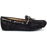 Zapatos Mujer Zapatos náuticos Geox Leelyan Negro