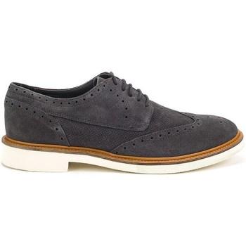 Zapatos Hombre Richelieu Geox Damocle Negros