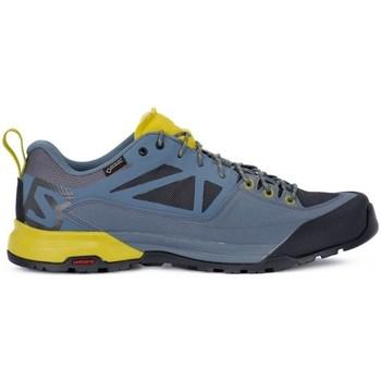 Zapatos Hombre Zapatillas bajas Salomon X Alp Spry Gtx Azul,Amarillos