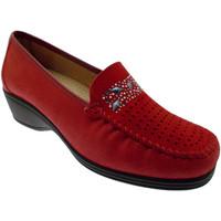 Zapatos Mujer Mocasín Calzaturificio Loren LOK3988ro rosso