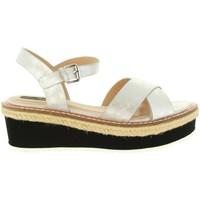 Zapatos Mujer Sandalias MTNG 55409 MELINDA Plateado