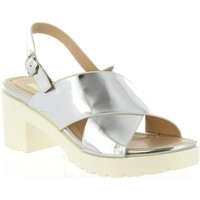 Zapatos Mujer Sandalias MTNG 55413 DELIA Plateado