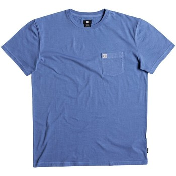 textil camisetas manga corta DC Shoes Camiseta  Dyed Campuluna Blue Wash multicolor
