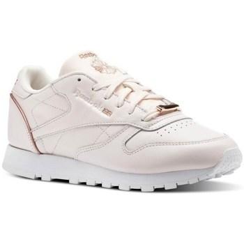 Zapatos Mujer Zapatillas bajas Reebok Sport CL Lthr Rosa