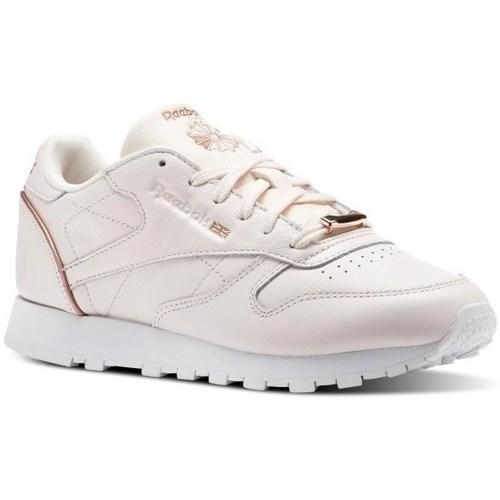 Recortes de precios estacionales, beneficios de descuento Reebok Sport CL Lthr Rosa - Zapatos Deportivas bajas Mujer  Rosa
