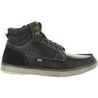 Zapatos Hombre Zapatillas altas Xti 47064 Azul