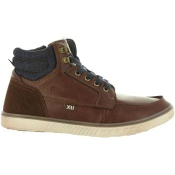 Zapatos Hombre Zapatillas altas Xti 47064 Marrón