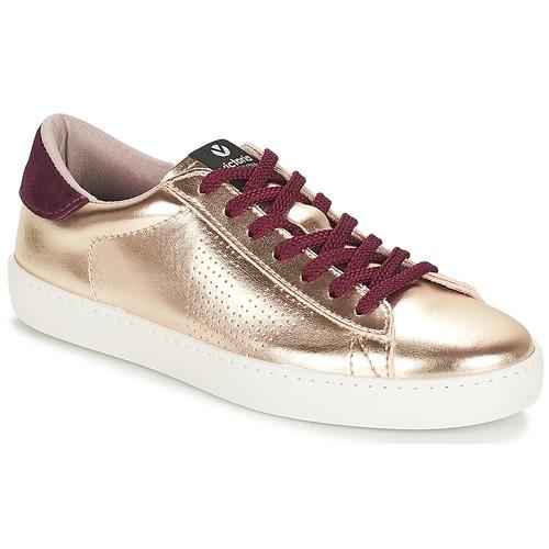 Zapatos casuales salvajes Victoria DEPORTIVO METALIZADO Oro - Envío gratis Nueva promoción - Zapatos Deportivas bajas Mujer