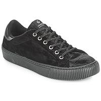 Zapatos Mujer Zapatillas bajas Victoria DEPORTIVO TERCIOPELO Negro