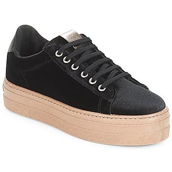 Zapatos Mujer Zapatillas bajas Victoria DEPORTIVO TERCIOPELO/CARAM Negro
