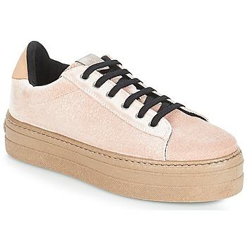 Zapatos Mujer Zapatillas bajas Victoria DEPORTIVO TERCIOPELO/CARAM Beige