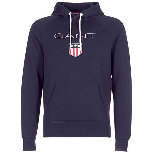 Gant GANT SHIELD SWEAT HOODIE Marino - Envío gratis | ! - textil sudaderas Hombre