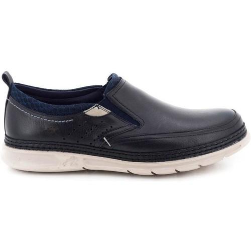 Fluchos F0174_SASU Azul - Zapatos Slip on Hombre