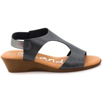 Zapatos Mujer Sandalias Oh My Sandals 3853 Gris