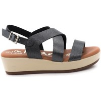 Zapatos Mujer Sandalias Oh My Sandals 3875 Gris