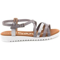 Zapatos Mujer Sandalias Oh My Sandals 3843 Gris