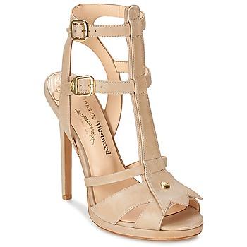 Zapatos Mujer Sandalias Vivienne Westwood CAVIL Beige