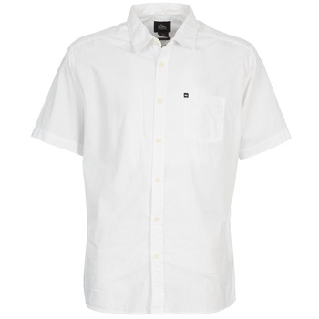 textil Hombre camisas manga corta Quiksilver EVERYDAY SOLID SS Blanco