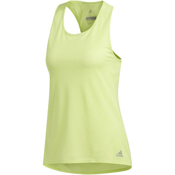 textil Mujer camisetas sin mangas adidas Performance Camiseta de tirantes Response Light Speed Amarillo / Multicolor