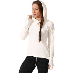 textil Mujer Polaire Reebok Sport Sudadera Combat Lightweight Blanco