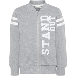 textil Niño sudaderas Name It Kids NMMHBONE Gris