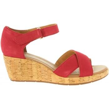 Zapatos Mujer Sandalias Clarks 26132327 UN PLAZA Rojo