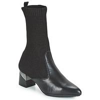 Zapatos Mujer Botas urbanas Hispanitas LINO Negro