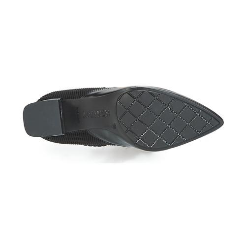 Urbanas Zapatos Negro Mujer Lino Hispanitas Botas TK3lcJF1