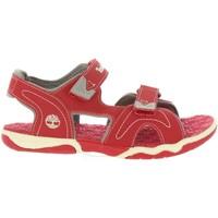 Zapatos Niños Sandalias Timberland A1QEV ADVENTURE Rojo
