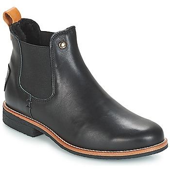 Zapatos Mujer Botas de caña baja Panama Jack GIORDANA Negro