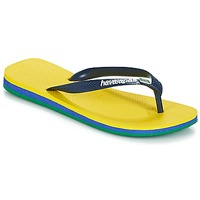 Zapatos Chanclas Havaianas BRASIL LAYERS Amarillo
