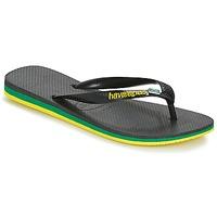 Zapatos Hombre Chanclas Havaianas Brasil Layers Negro