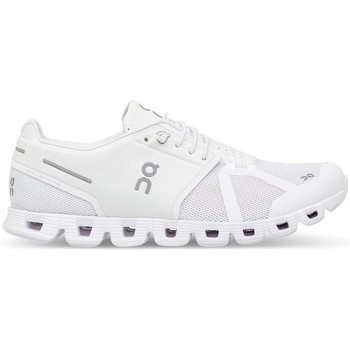 Zapatos Deportivas Moda On Running ONCLOUD WOMAN ALL WHITE Blanco