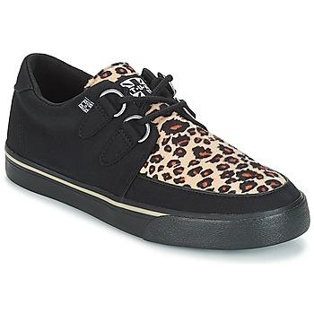 Zapatos Zapatillas bajas TUK SNEAKER CREEPER Negro / Marrón