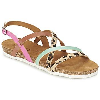 Zapatos Mujer Sandalias Bunker LAST MAHON Multicolor