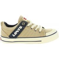Zapatos Niño Zapatillas bajas Levi's VALB0002T ALABAMA Beige