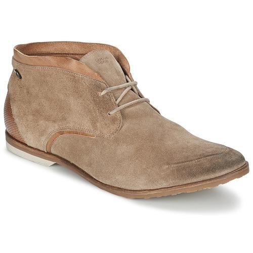 Zapatos Hombre Botas de caña baja Coqueterra DYLAN Beige
