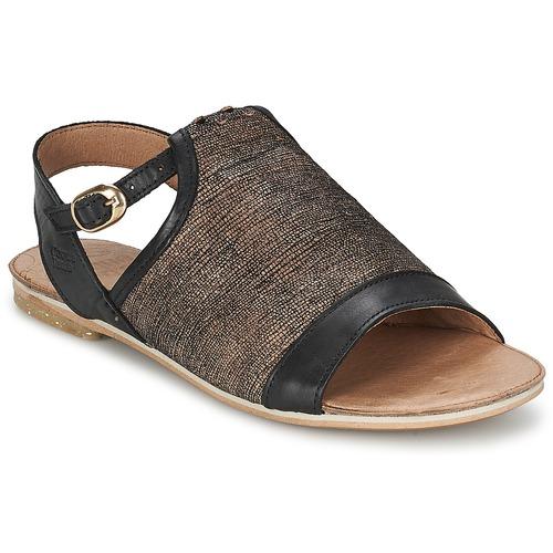 Zapatos Mujer Sandalias Coqueterra CRAFT Negro