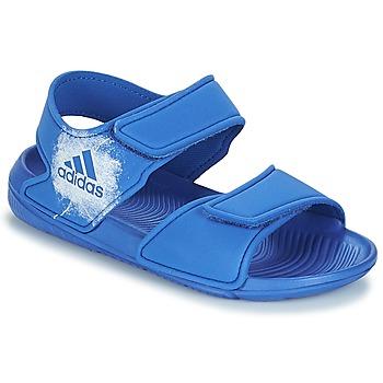Zapatos Niños Sandalias adidas Performance ALTASWIM C Azul