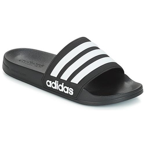 Zapatos Chanclas adidas Performance ADILETTE SHOWER Negro