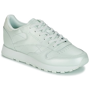 Zapatos Mujer Zapatillas bajas Reebok Classic CLASSIC LEATHER Verde